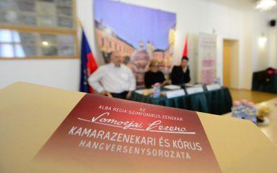 Somorjai bérlet és Ars Oratoria Kamarakórus koncert a sajtótájékoztatón