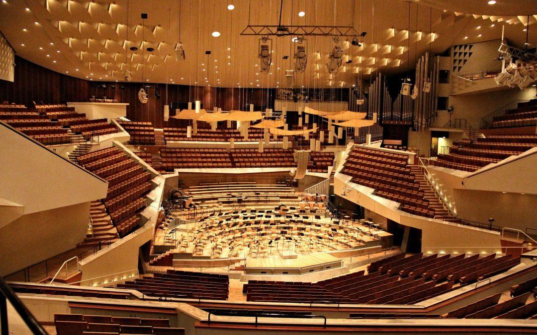 Koncert a Berlini Filharmónia Nagytermében