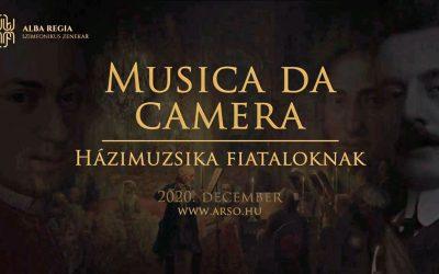 Musica da camera – Házimuzsika fiataloknak