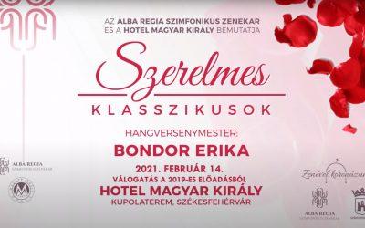Romantikus koncert a fehérvári szimfonikusoktól