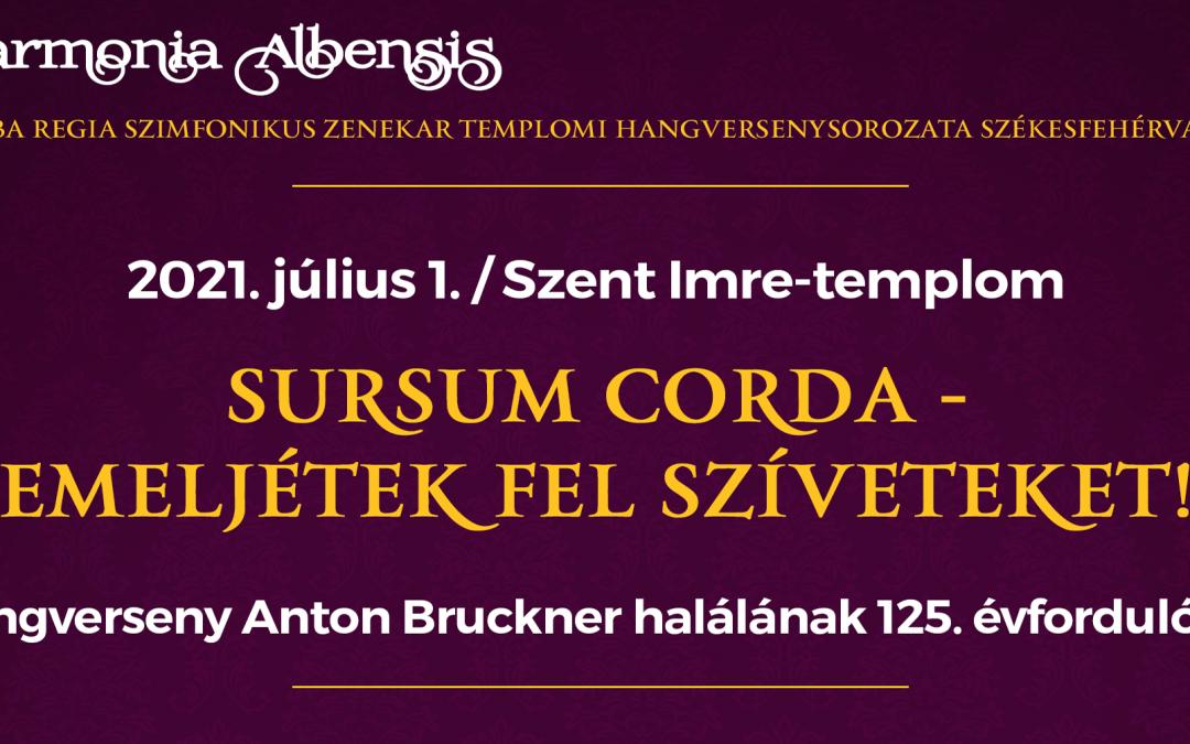 Sursum corda ‒ Emeljétek fel szíveteket!
