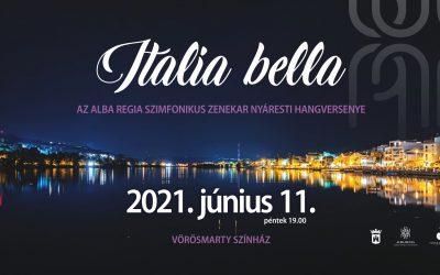 Italia bella – nyáresti zenés csokor a fehérvári szimfonikusoktól