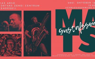 Mats Gustafsson világhírű szaxofonos koncertjével indul az ARSO Kortárs Zenei Műhelye